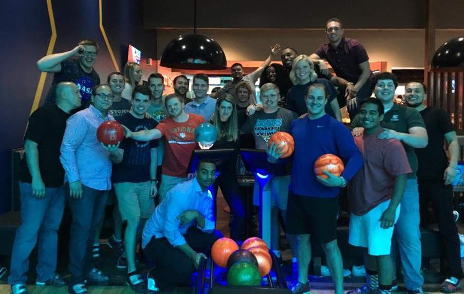 POOLCORP 2017 MIT Class Bowling Night Picture